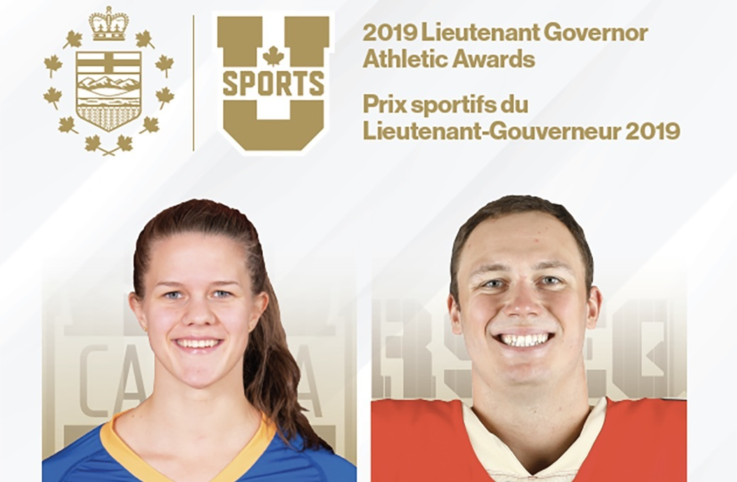 Sergeant, Massey, Towriss take home U SPORTS Honours Awards at 2019 Conference and Annual Meeting