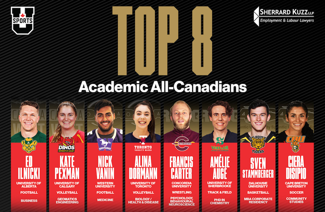 6afde29b5fe Top 8 Academic All-Canadians announced for 2017-18 season — U SPORTS