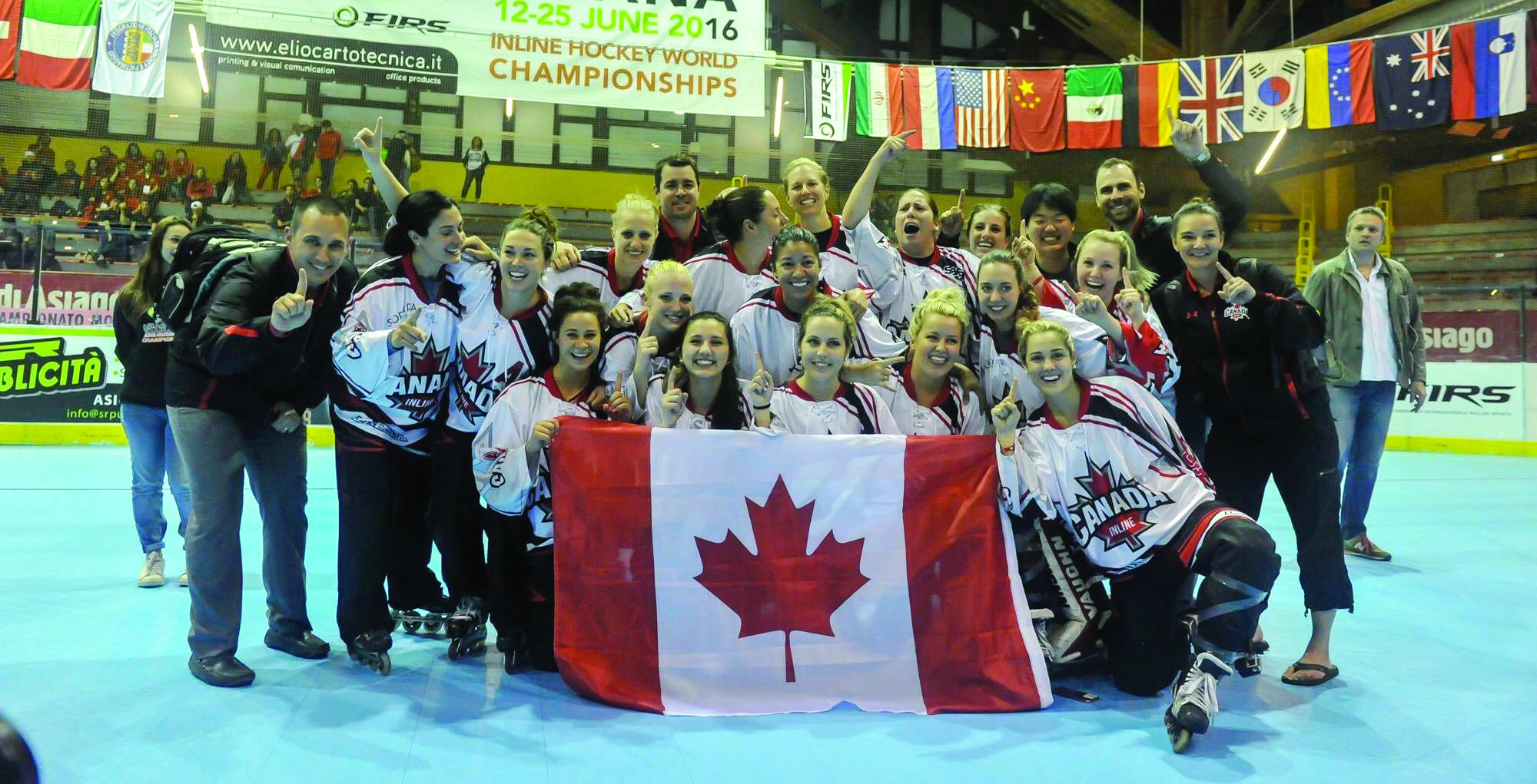 INLINE AND ICE: YORK'S SOMERVILLE AND POWER EXCEL ON