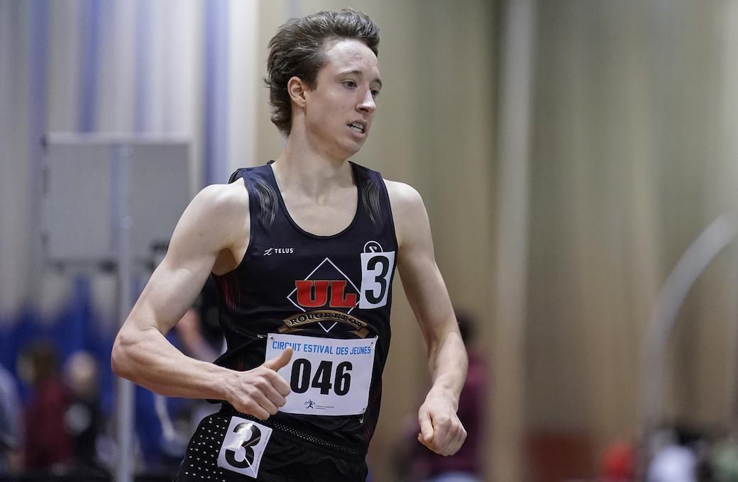 Faites connaissance avec les athlètes d'Équipe Canada qui prendront part à  l'Universiade d'été FISU 2019 : Jean-Simon Desgagnés, athlétisme —  Athlétisme Masculin — U SPORTS