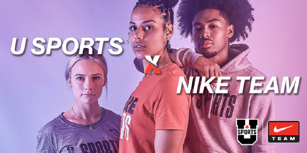 Disturbio infraestructura Piscina  Nike Team named Exclusive Performance Apparel Partner of U SPORTS — U SPORTS